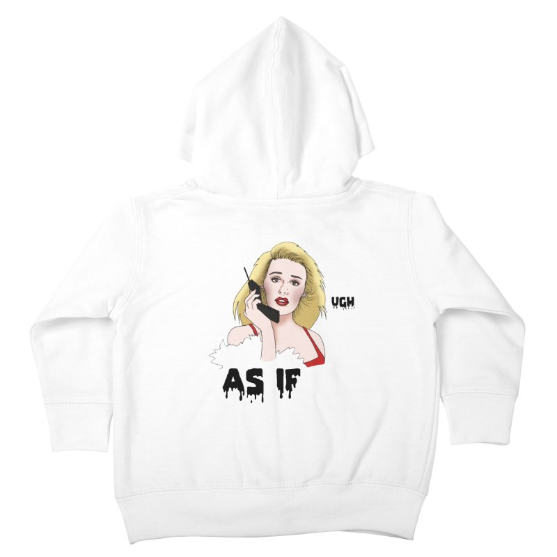 Cher Kids Toddler Zip-Up Hoody by coolsaysnev's Shop