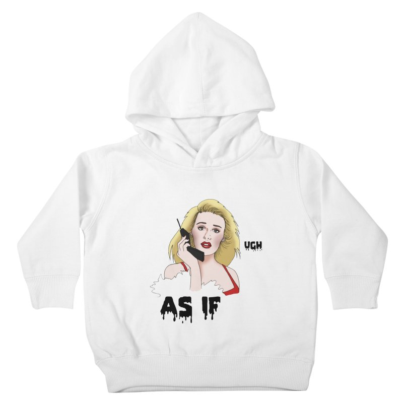 Cher Kids Toddler Pullover Hoody by coolsaysnev's Shop