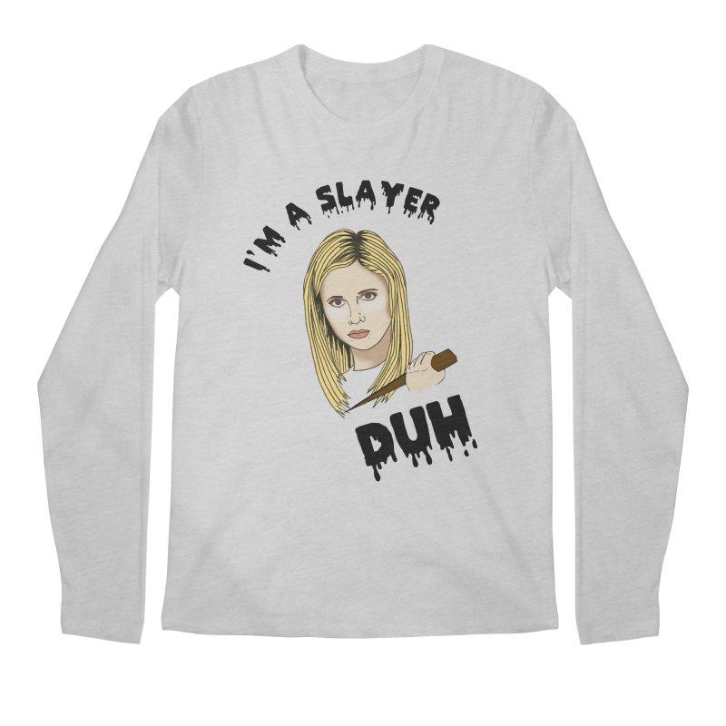 My girl Buffy Men's Regular Longsleeve T-Shirt by coolsaysnev's Shop