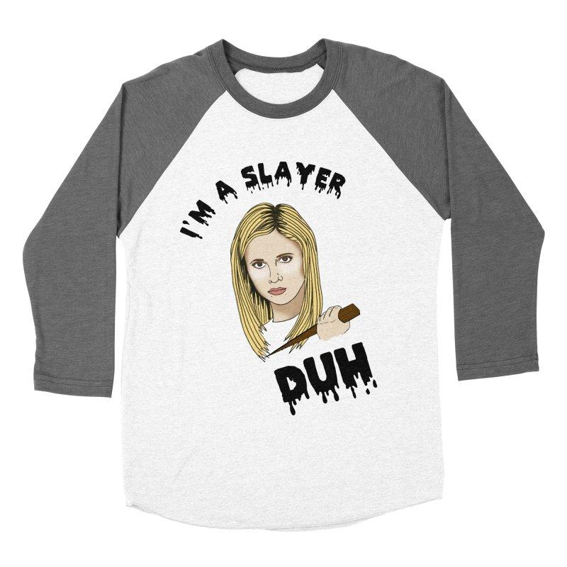 My girl Buffy Women's Baseball Triblend Longsleeve T-Shirt by coolsaysnev's Shop