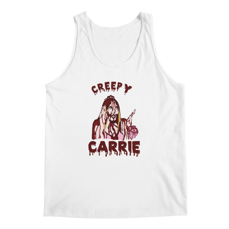 Creepy Carrie Men's Regular Tank by coolsaysnev's Shop