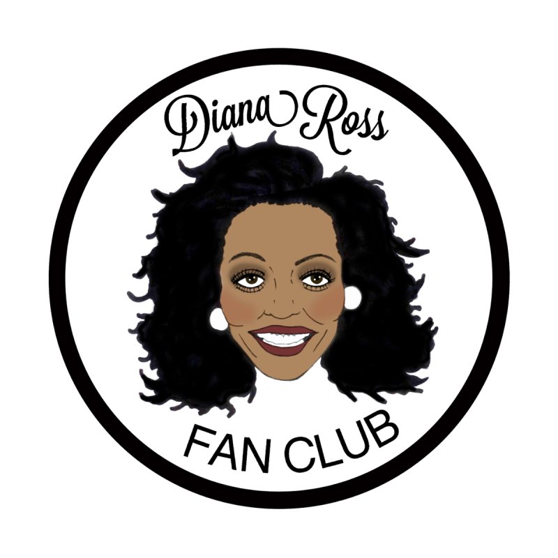 Diana Ross Fan Club Member Women's Tank by coolsaysnev's Shop