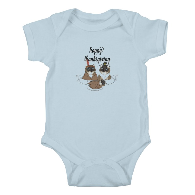Strokes Dinner Kids Baby Bodysuit by coolsaysnev's Shop