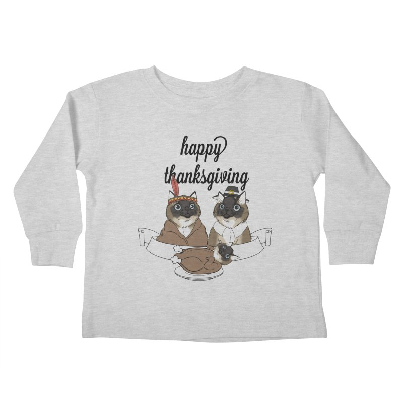 Strokes Dinner Kids Toddler Longsleeve T-Shirt by coolsaysnev's Shop