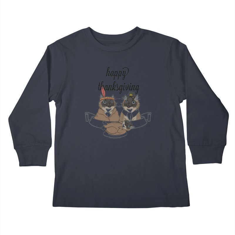 Strokes Dinner Kids Longsleeve T-Shirt by coolsaysnev's Shop