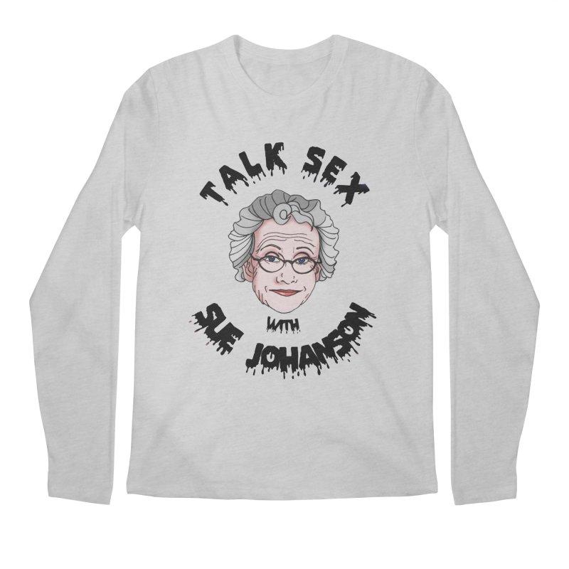 Talk Sex with Sue Johanson Men's Regular Longsleeve T-Shirt by coolsaysnev's Shop