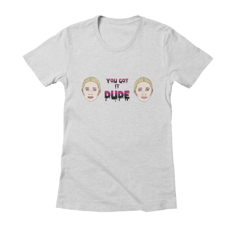 Olsen twins Women's Fitted T-Shirt by coolsaysnev's Shop