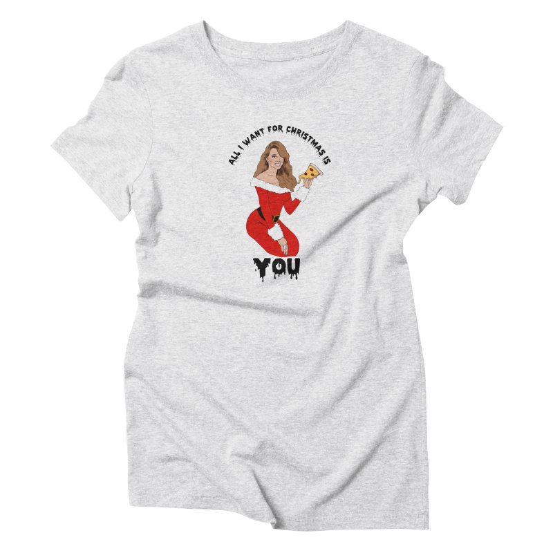 Mariah Carey's Christmas Women's T-Shirt by coolsaysnev's Shop