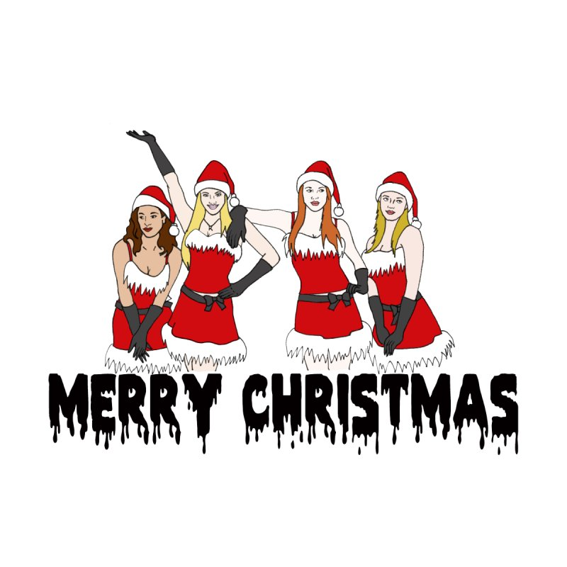 Mean Girls Christmas Home Stretched Canvas by coolsaysnev's Shop