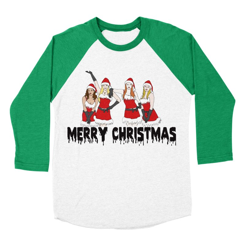 Mean Girls Christmas Women's Baseball Triblend T-Shirt by coolsaysnev's Shop