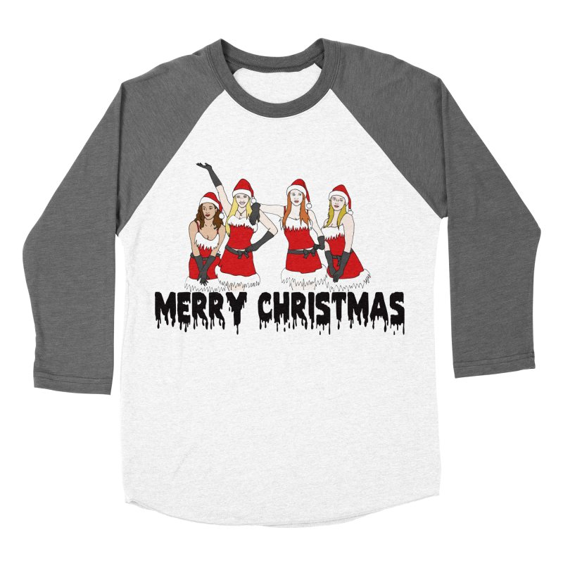 Mean Girls Christmas Men's Baseball Triblend Longsleeve T-Shirt by coolsaysnev's Shop