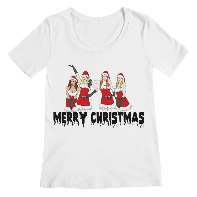 Mean Girls Christmas Women's Scoopneck by coolsaysnev's Shop