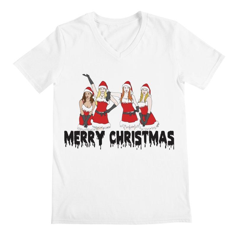 Mean Girls Christmas Men's Regular V-Neck by coolsaysnev's Shop