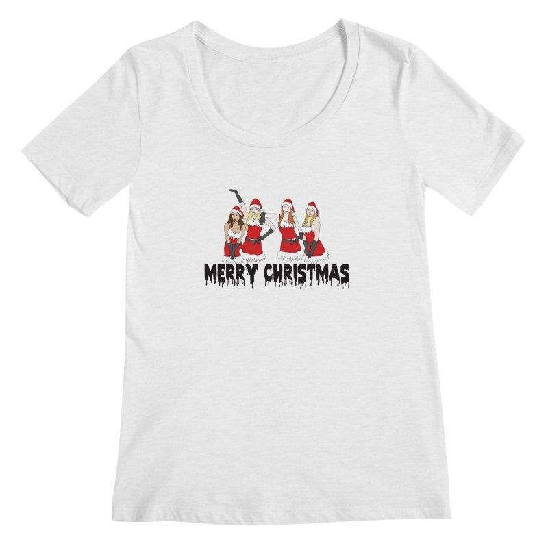 Mean Girls Christmas Women's Regular Scoop Neck by coolsaysnev's Shop