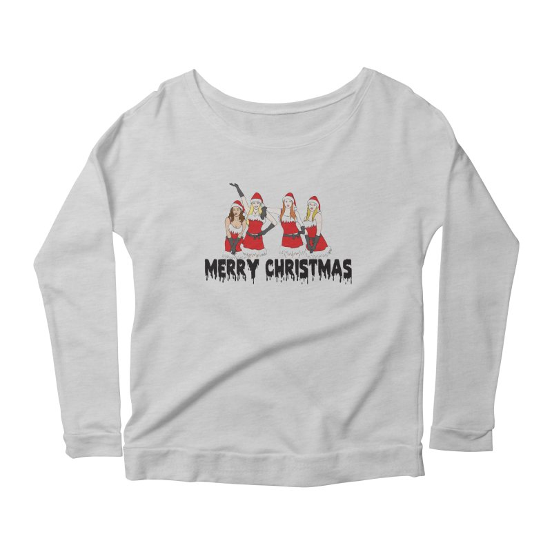 Mean Girls Christmas Women's Scoop Neck Longsleeve T-Shirt by coolsaysnev's Shop