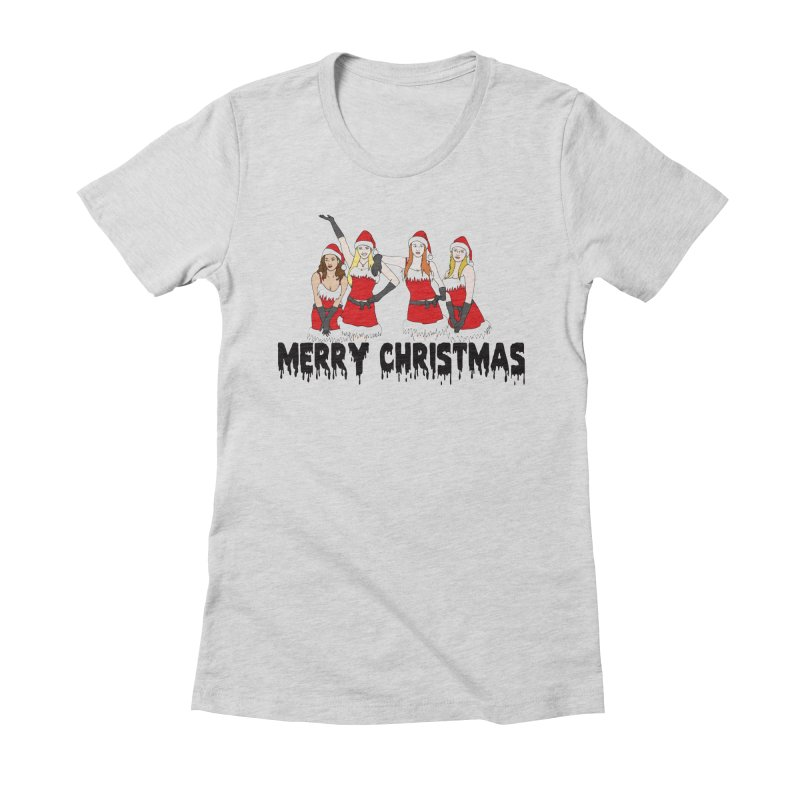 Mean Girls Christmas Women's Fitted T-Shirt by coolsaysnev's Shop