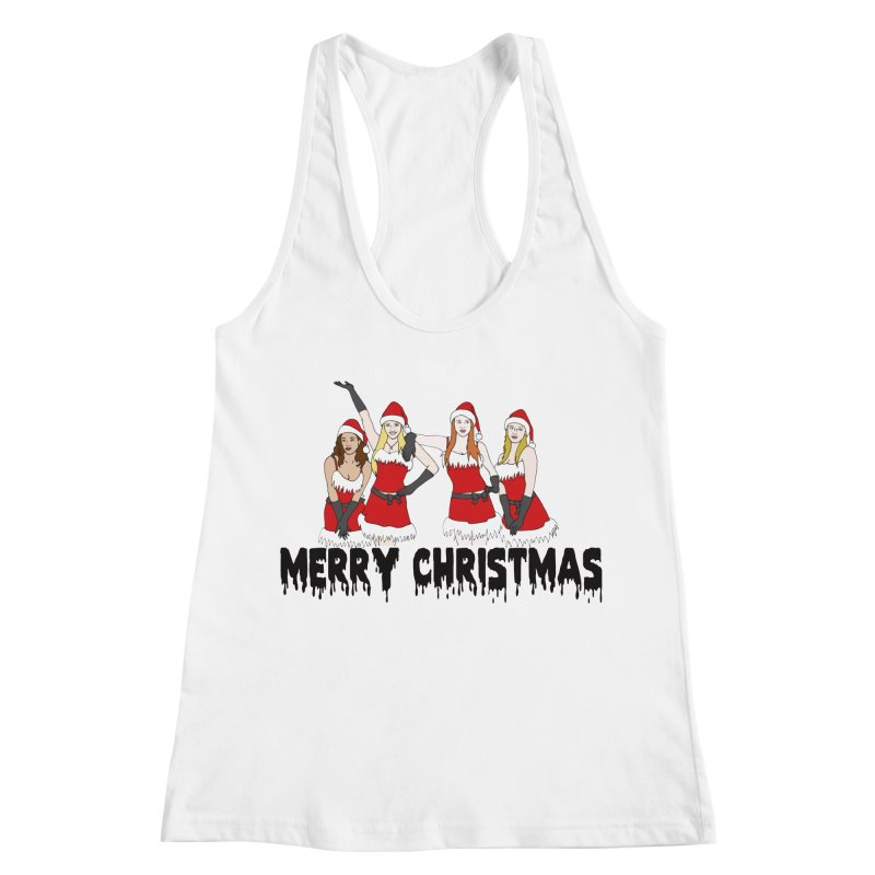 Mean Girls Christmas Women's Racerback Tank by coolsaysnev's Shop