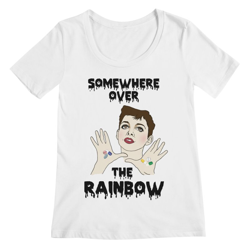 Judy Garland Women's Scoopneck by coolsaysnev's Shop