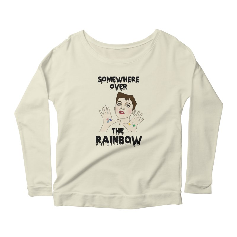 Judy Garland Women's Longsleeve Scoopneck  by coolsaysnev's Shop