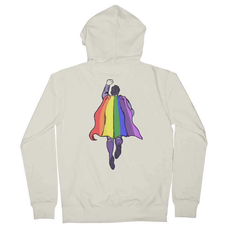 Love wins Men's French Terry Zip-Up Hoody by coolsaysnev's Shop
