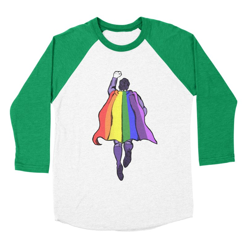 Love wins Men's Baseball Triblend Longsleeve T-Shirt by coolsaysnev's Shop