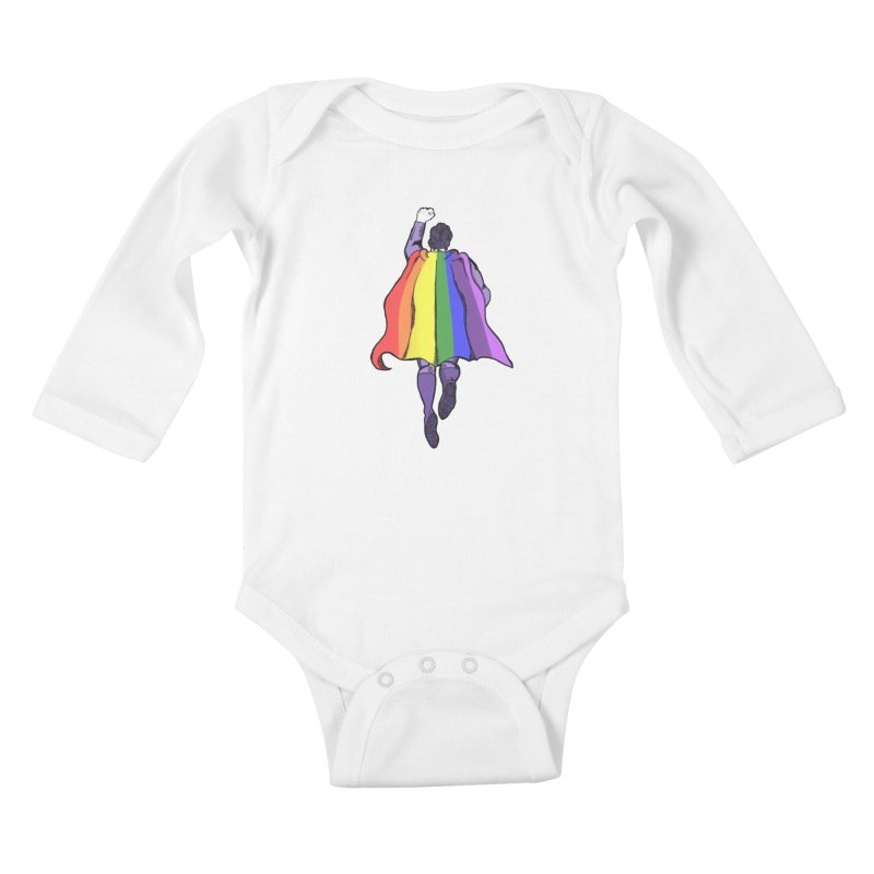 Love wins Kids Baby Longsleeve Bodysuit by coolsaysnev's Shop