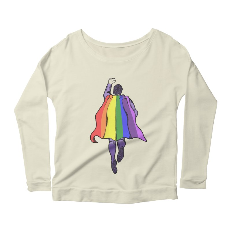 Love wins Women's Scoop Neck Longsleeve T-Shirt by coolsaysnev's Shop