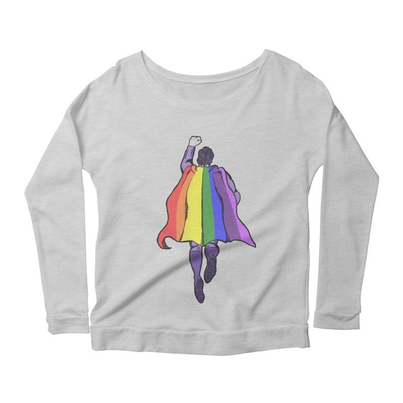 Love wins Women's Longsleeve Scoopneck  by coolsaysnev's Shop