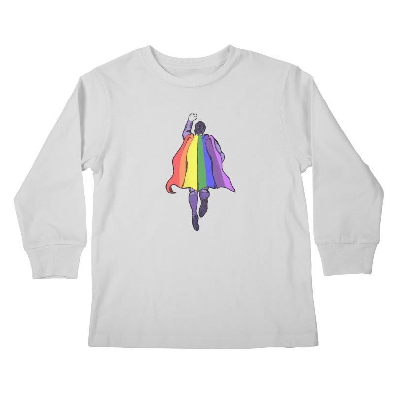 Love wins Kids Longsleeve T-Shirt by coolsaysnev's Shop