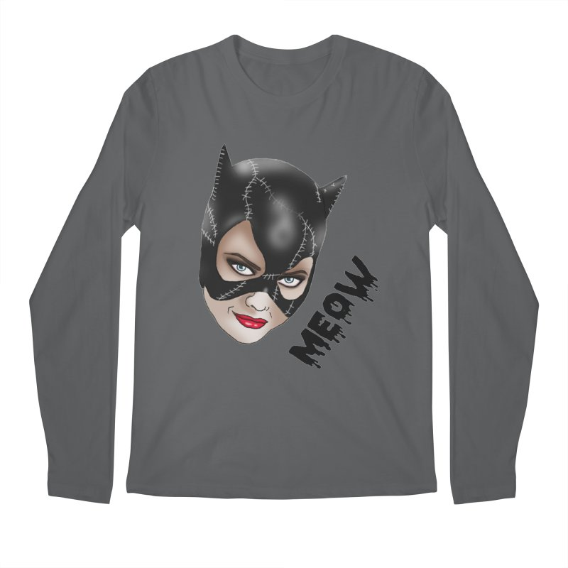 Catwoman Men's Regular Longsleeve T-Shirt by coolsaysnev's Shop