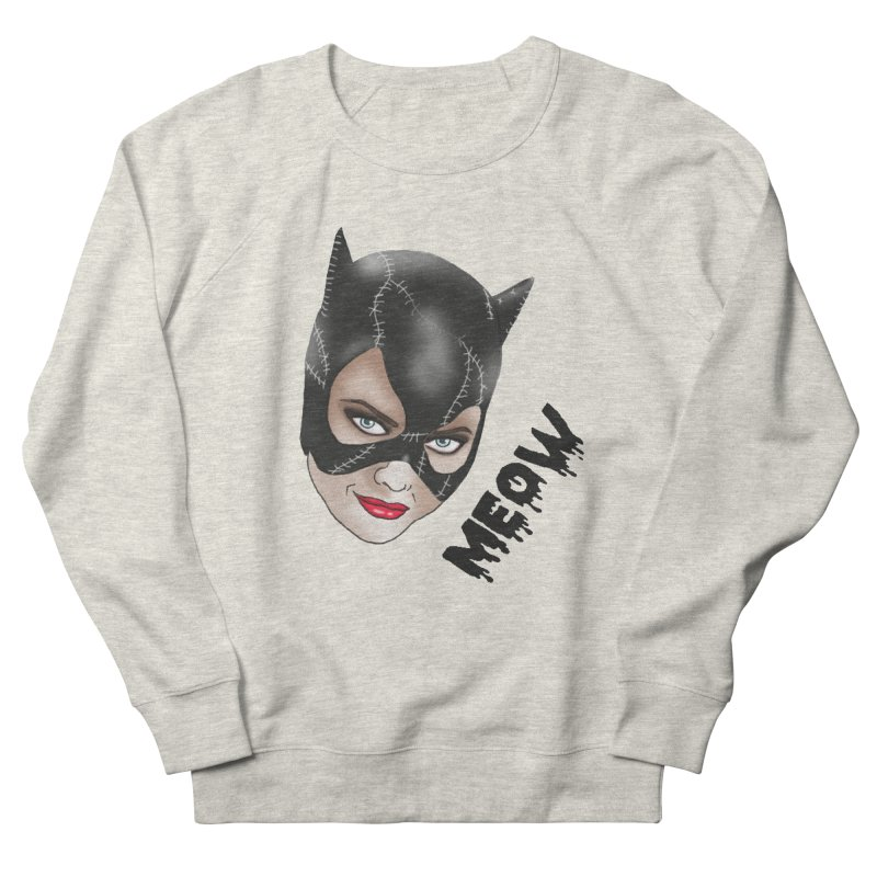 Catwoman Women's French Terry Sweatshirt by coolsaysnev's Shop