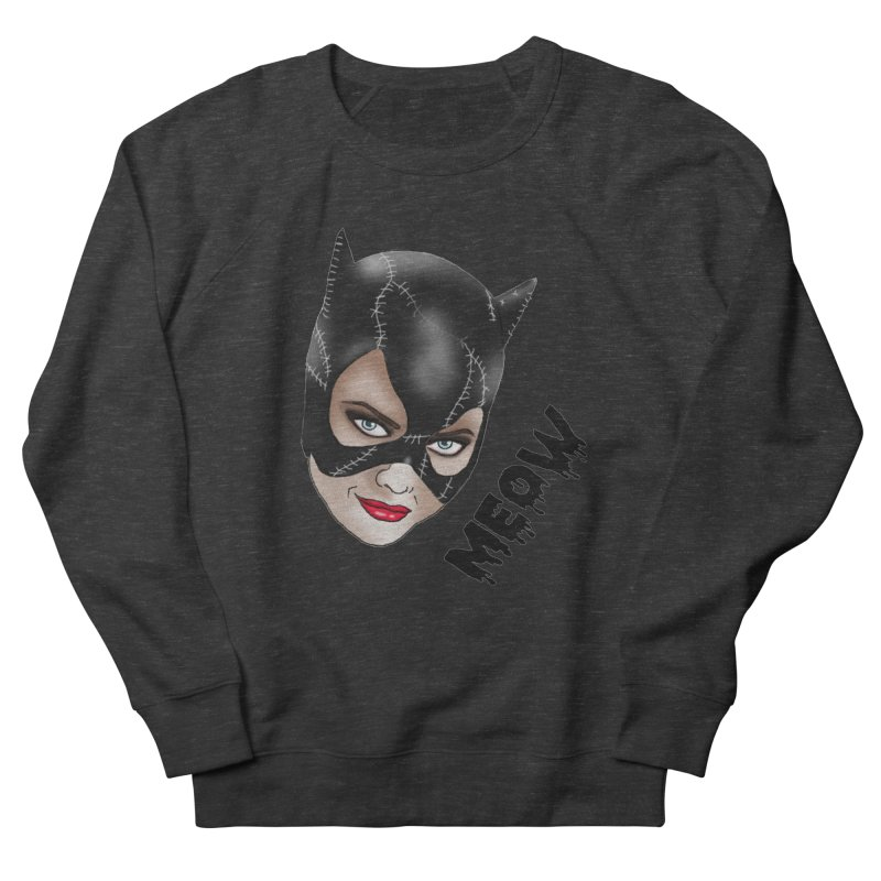 Catwoman Men's French Terry Sweatshirt by coolsaysnev's Shop