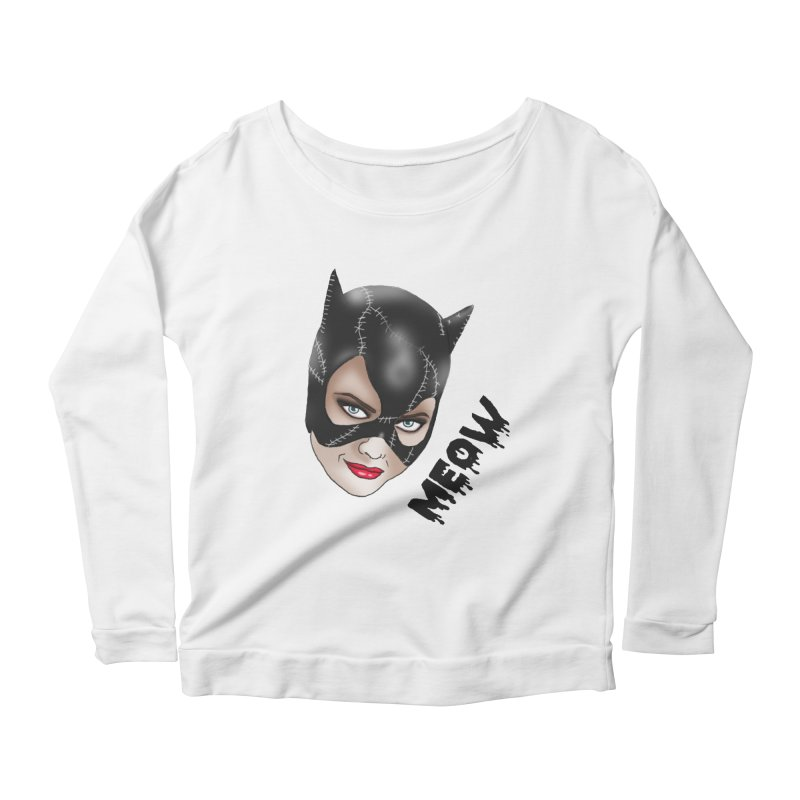 Catwoman Women's Scoop Neck Longsleeve T-Shirt by coolsaysnev's Shop