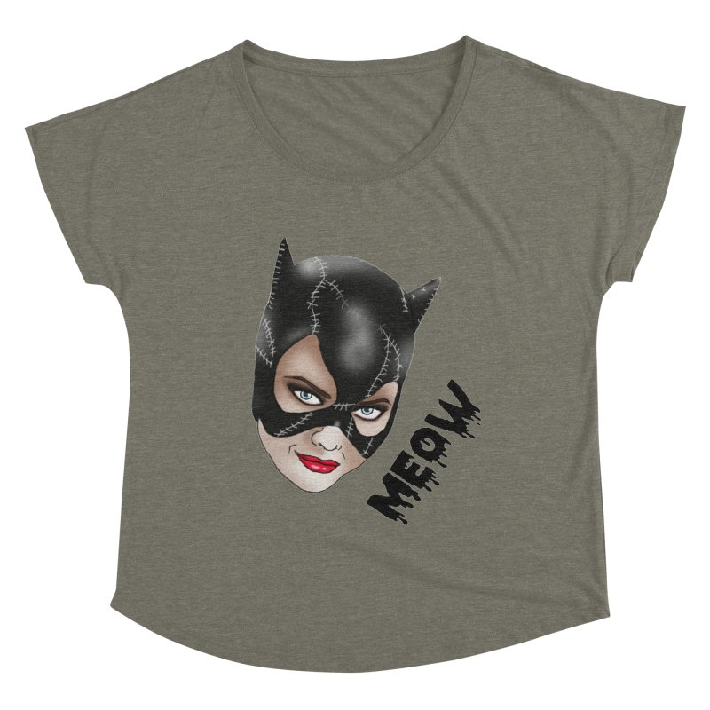Catwoman Women's Dolman Scoop Neck by coolsaysnev's Shop