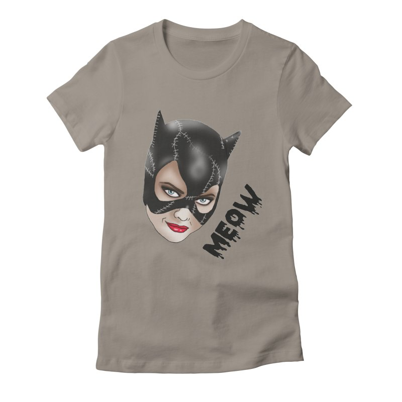 Catwoman Women's Fitted T-Shirt by coolsaysnev's Shop