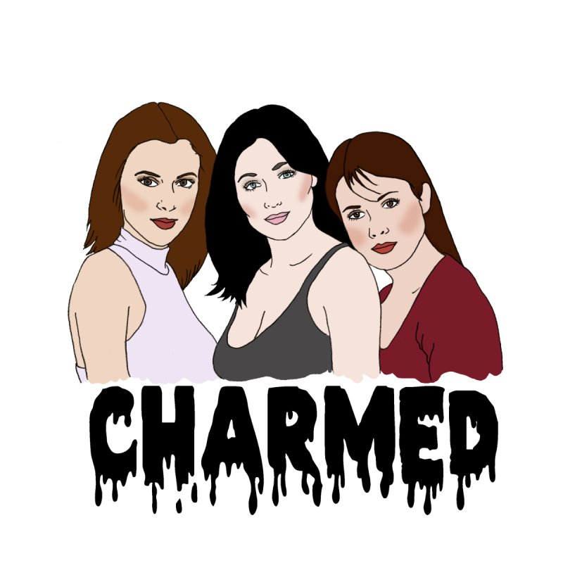 Charmed sisters Women's V-Neck by coolsaysnev's Shop