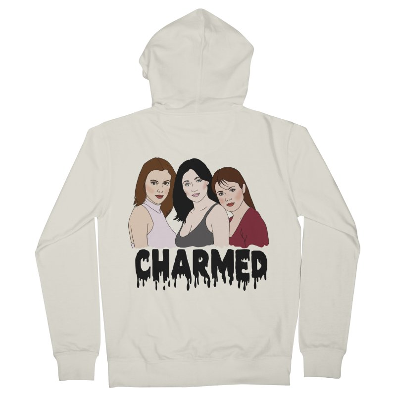 Charmed sisters Women's French Terry Zip-Up Hoody by coolsaysnev's Shop