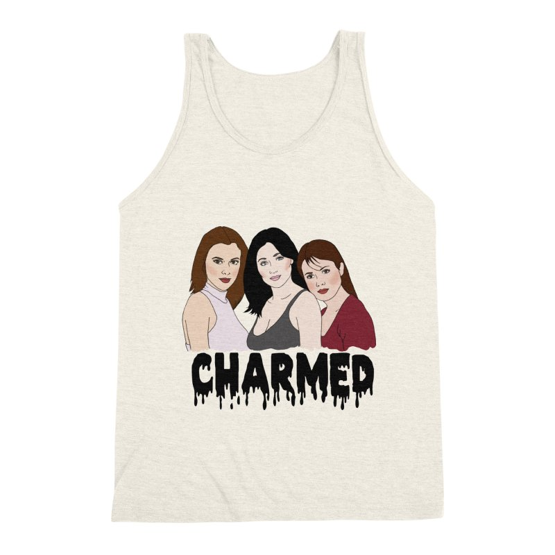 Charmed sisters Men's Triblend Tank by coolsaysnev's Shop