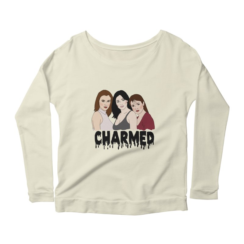 Charmed sisters Women's Longsleeve Scoopneck  by coolsaysnev's Shop