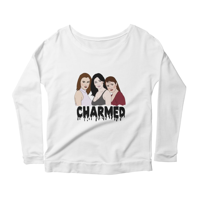 Charmed sisters Women's Scoop Neck Longsleeve T-Shirt by coolsaysnev's Shop