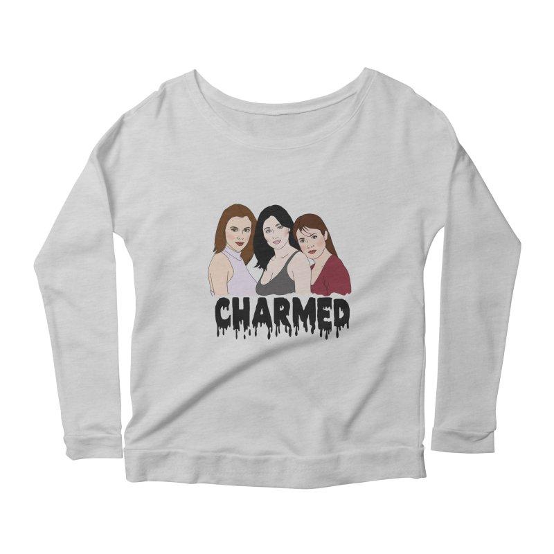 Charmed sisters Women's Longsleeve Scoopneck  by coolsaysnev's Shop