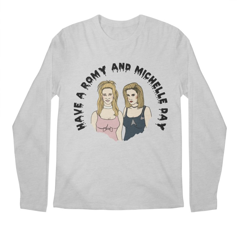 Romey and Michelle  Men's Longsleeve T-Shirt by coolsaysnev's Shop
