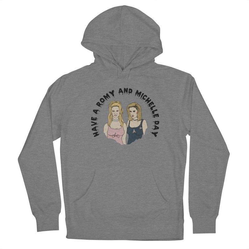 Romey and Michelle  Women's French Terry Pullover Hoody by coolsaysnev's Shop