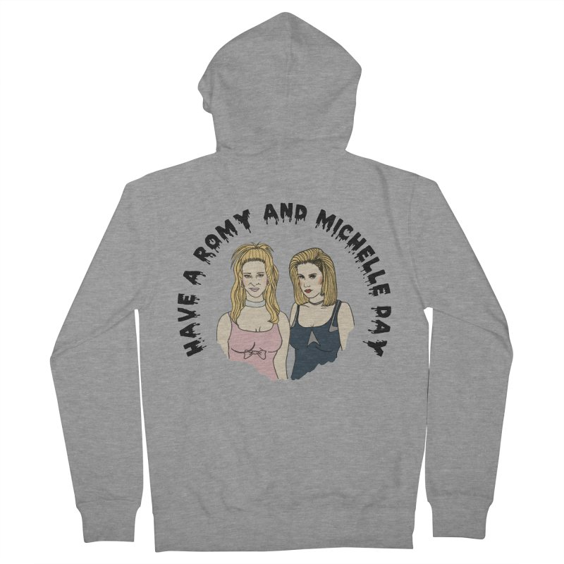 Romey and Michelle  Women's Zip-Up Hoody by coolsaysnev's Shop