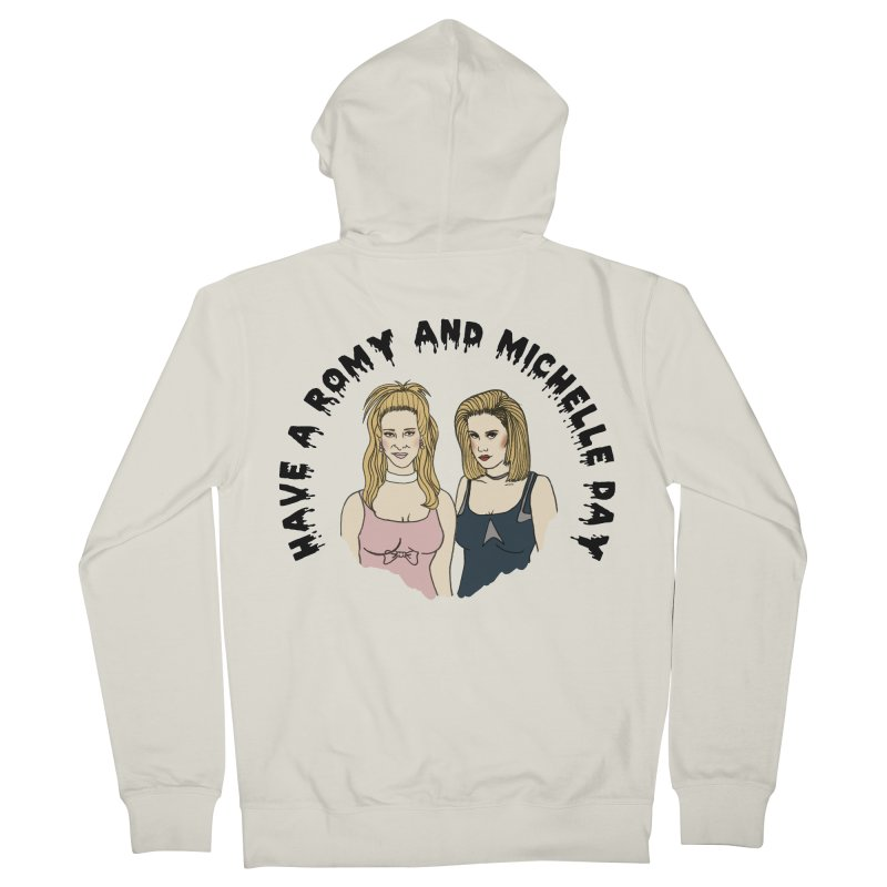 Romey and Michelle  Men's Zip-Up Hoody by coolsaysnev's Shop