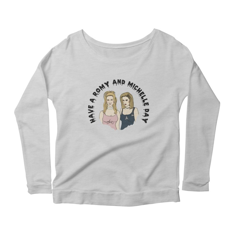 Romey and Michelle  Women's Longsleeve Scoopneck  by coolsaysnev's Shop