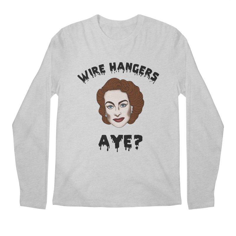 Joan Crawford Men's Longsleeve T-Shirt by coolsaysnev's Shop