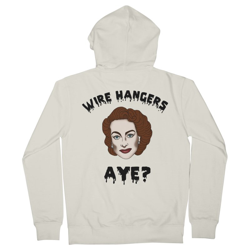 Joan Crawford Women's Zip-Up Hoody by coolsaysnev's Shop