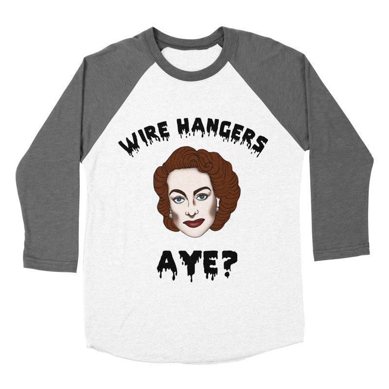 Joan Crawford Men's Baseball Triblend Longsleeve T-Shirt by coolsaysnev's Shop