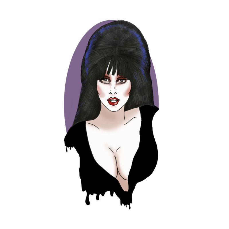Elvira Women's V-Neck by coolsaysnev's Shop